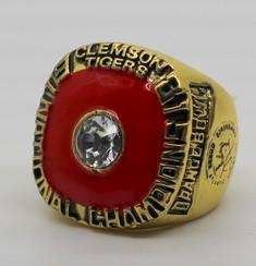 Clemson Tigers College Football National Championship Ring (1981) - Championship Rings