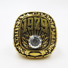 Alabama Crimson Tide College Football National Championship Ring 1979