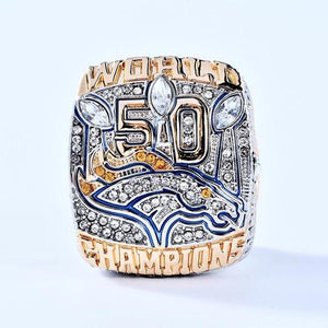 Denver Broncos Super Bowl Ring (2015) - Championship Rings