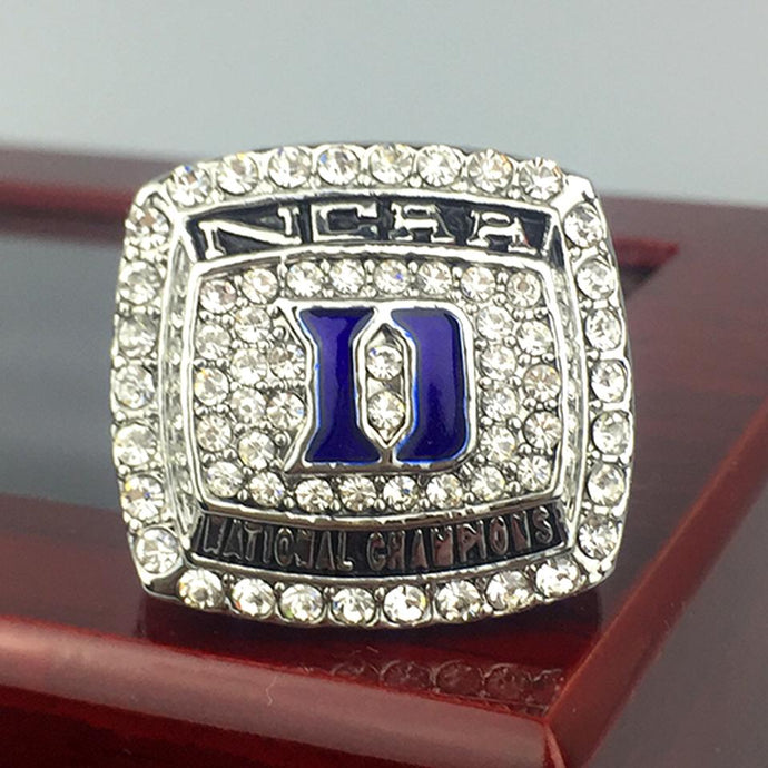 Duke University Blue Devils College Basketball Championship Ring (2015) - Premium Series - Championship Rings