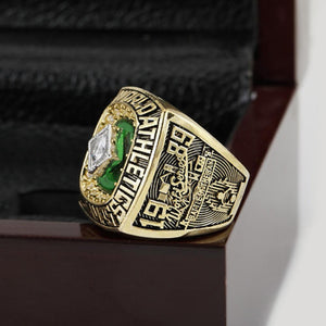 Oakland Athletics World Series Ring (1989) - Premium Series - Championship Rings
