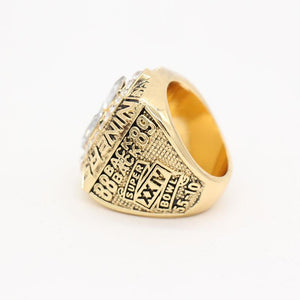 San Francisco 49ers Super Bowl Ring (1989) - - Championship Rings