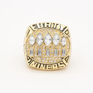 San Francisco 49ers Super Bowl Ring (1994) - - Championship Rings