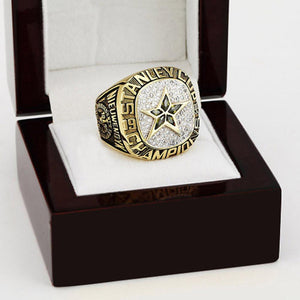 Dallas Stars Stanley Cup Ring (1999) - Premium Series - Championship Rings