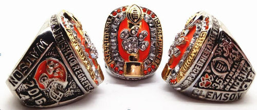 Clemson Tigers College Football National Championship Ring (2016) - Championship Rings