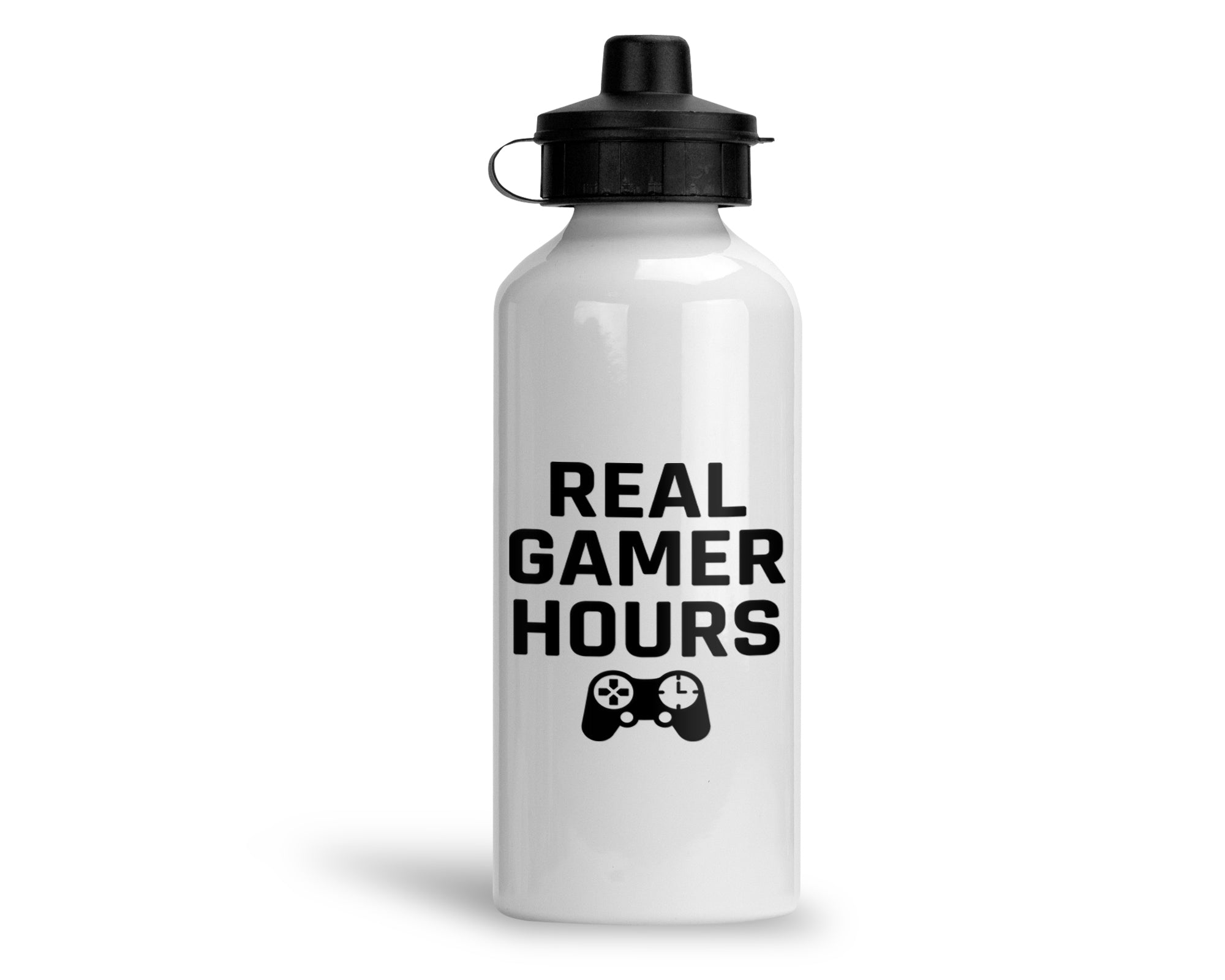 Real Gamer Hours - Metal Bottle