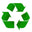 recycled materials logo