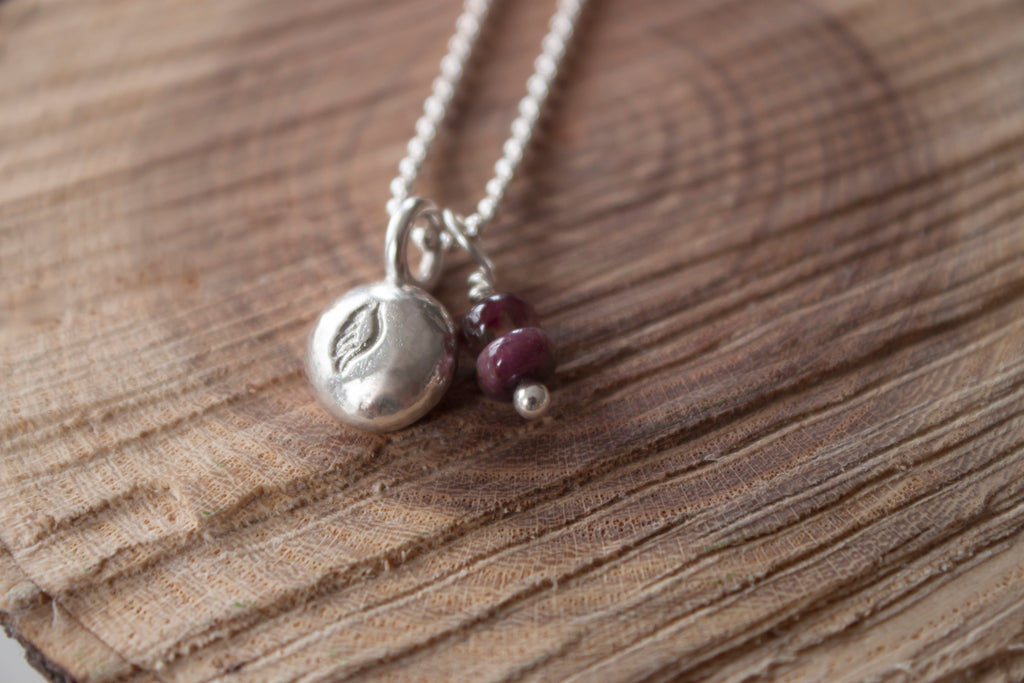 Always Remember - personalized memorial necklace