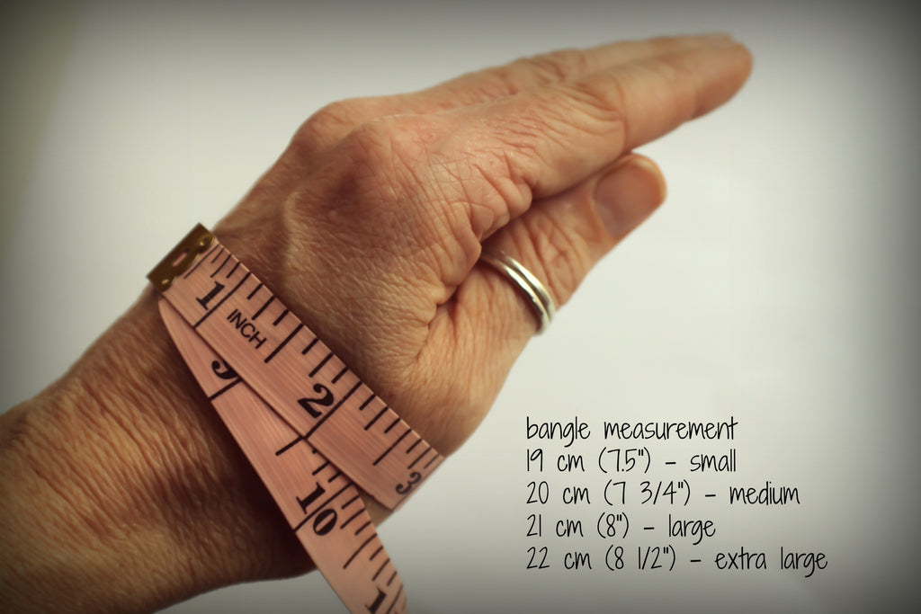 measurement for bangles