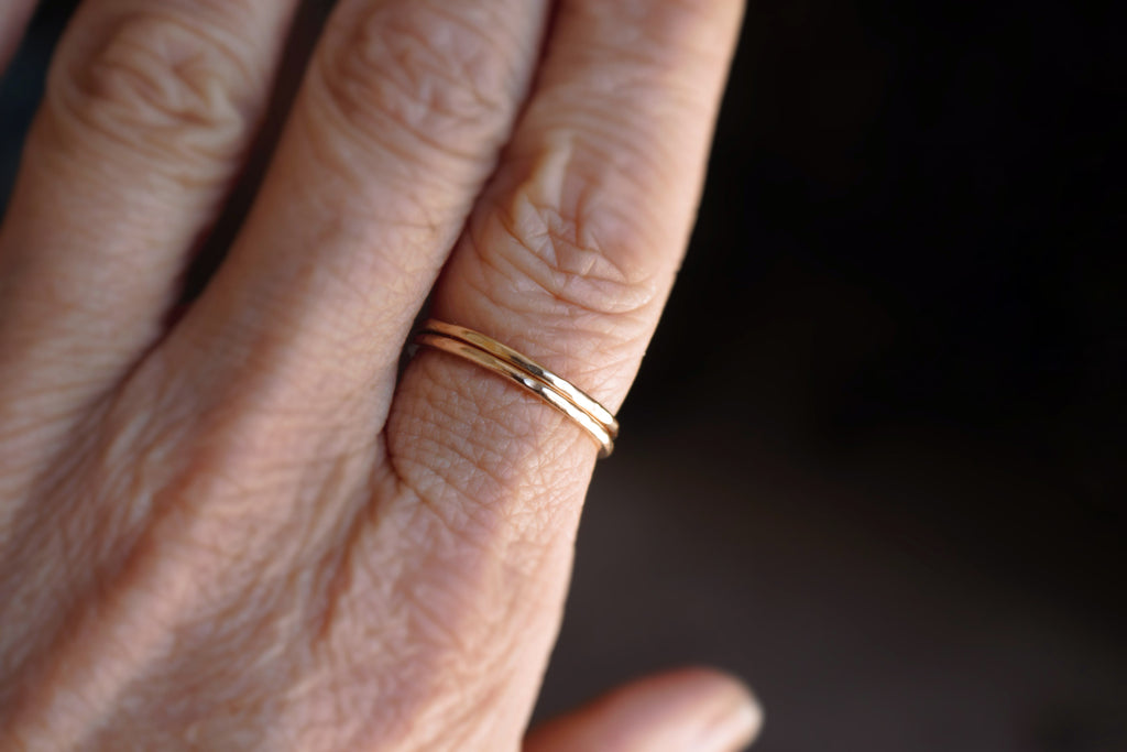 Simply Stacked - 14K gold filled stacking ring