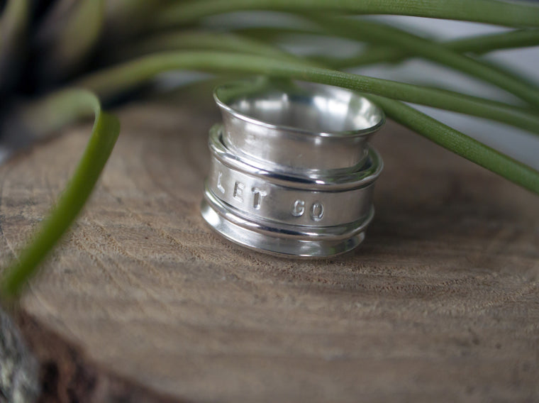 spinner ring, fidget ring, worry ring by SFDesigns