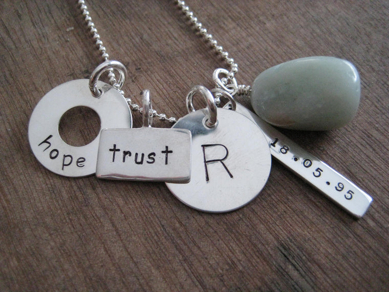 Simply Me - personalized charm necklace