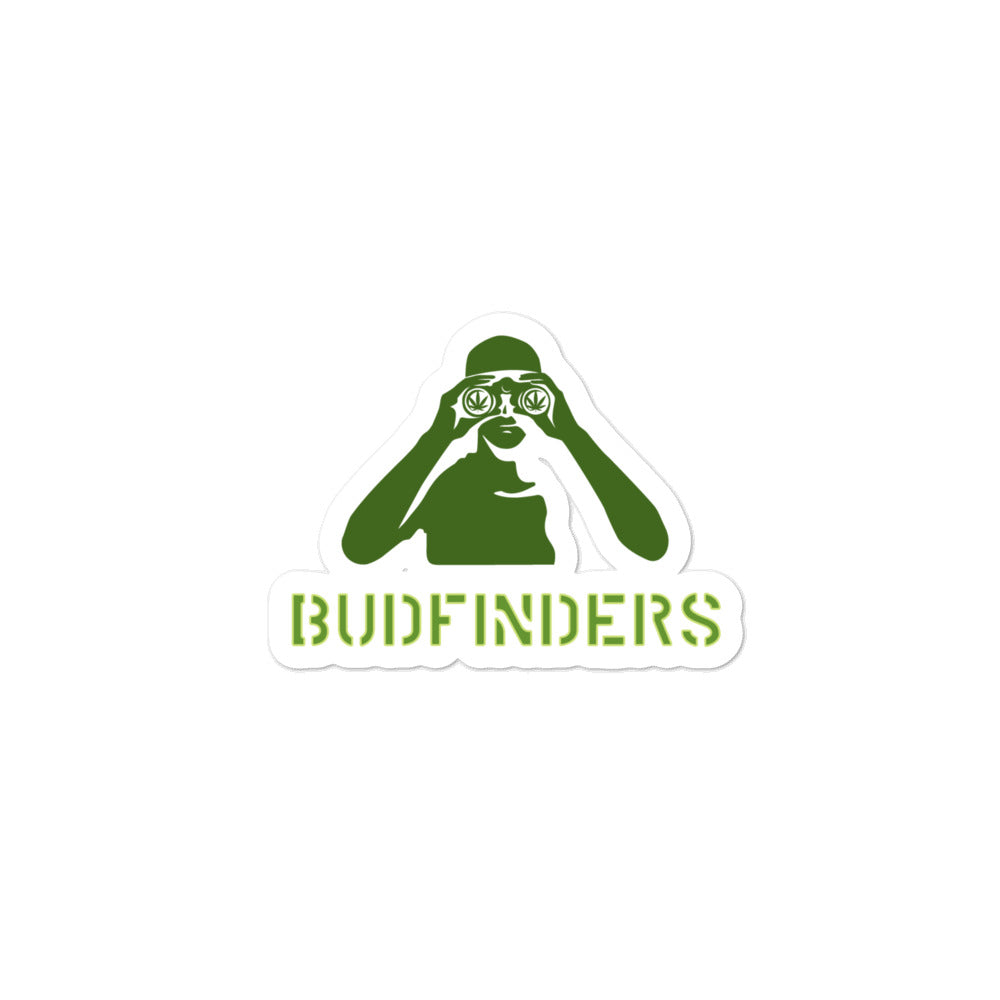 Budfinders Bubble-free stickers