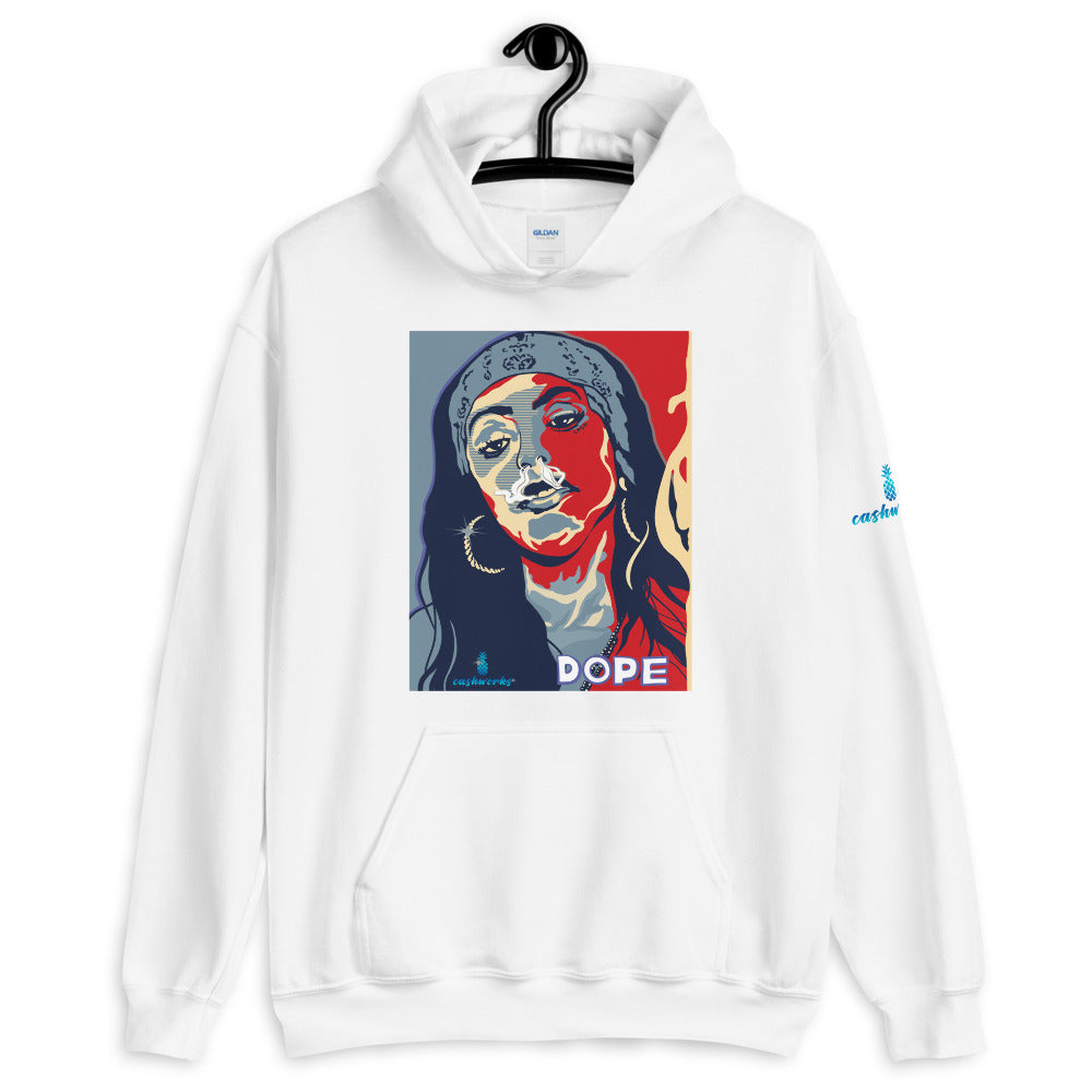 Aaliyah Dope Hooded Sweatshirt