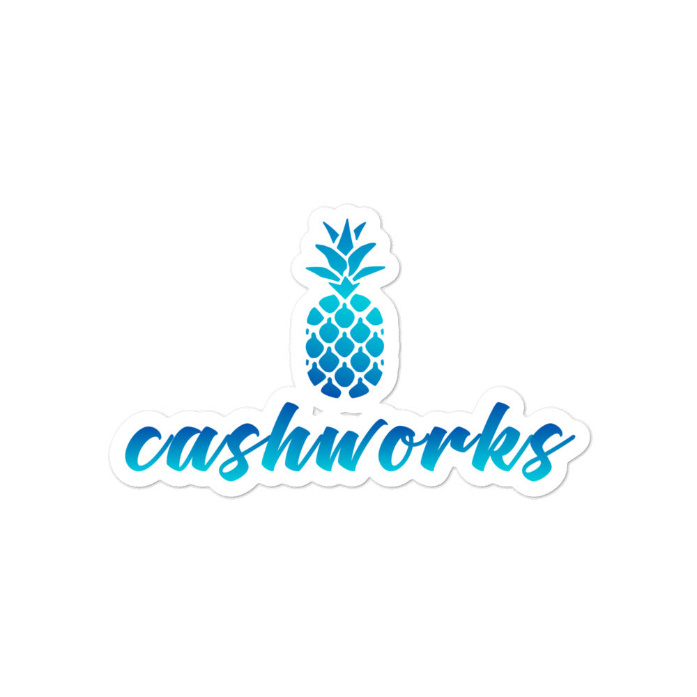 Cashworks Bubble-free stickers