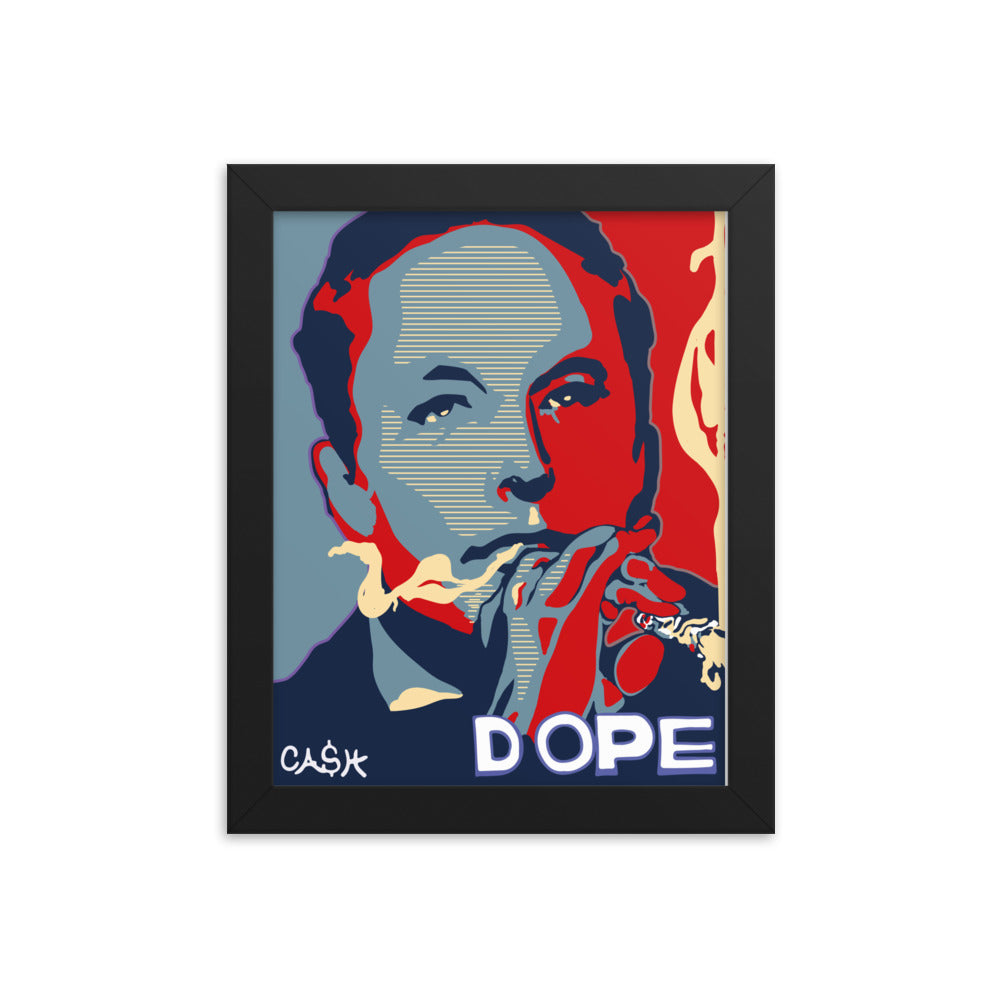 Elon Dope Framed photo paper poster