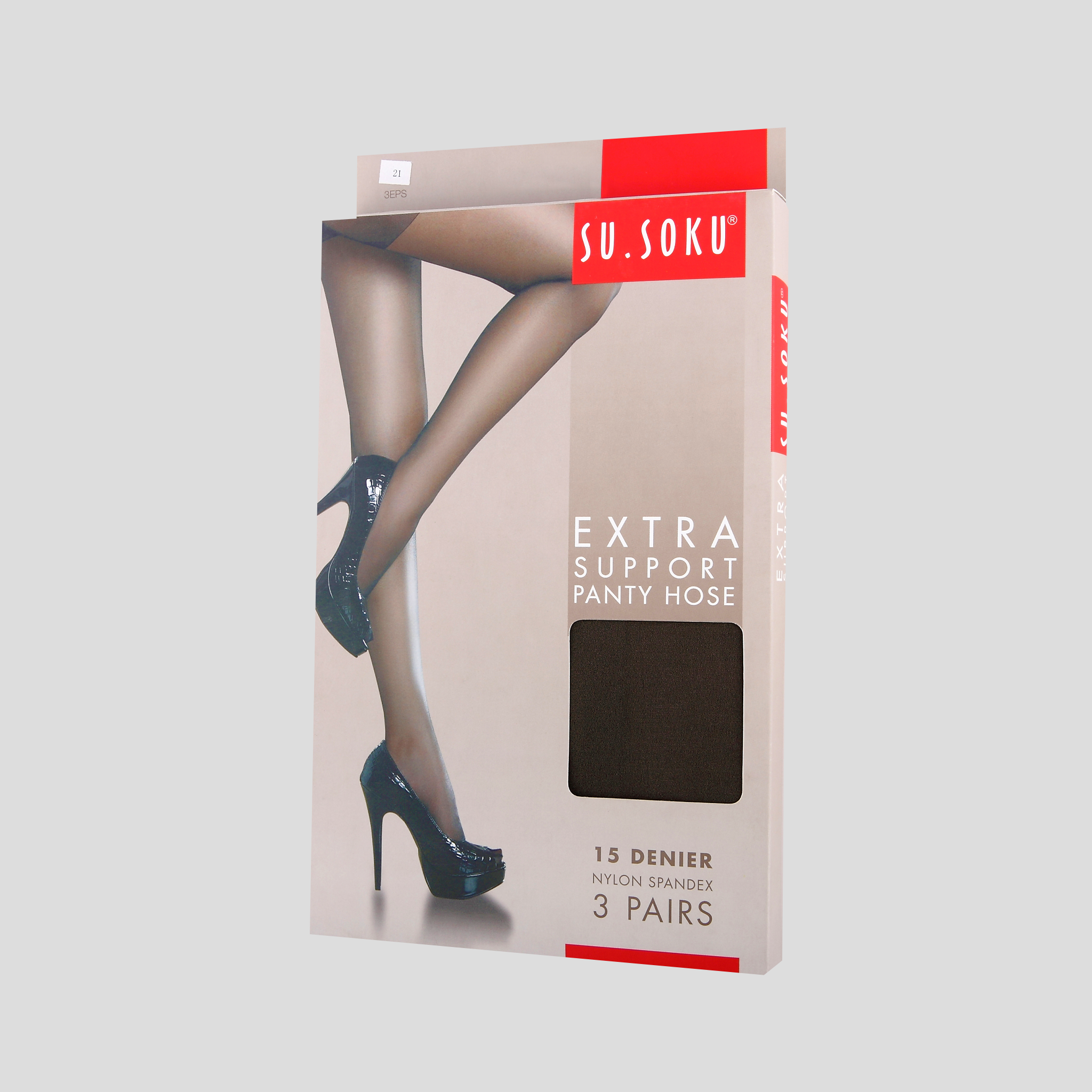 Extra Support Panty Hose Packaging