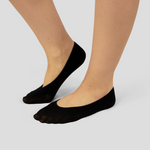 black cotton foot cover