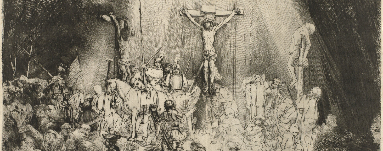 Who was crucified with Jesus