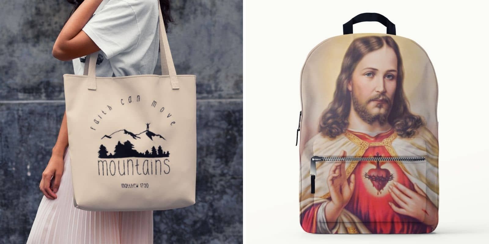 christain tote bag