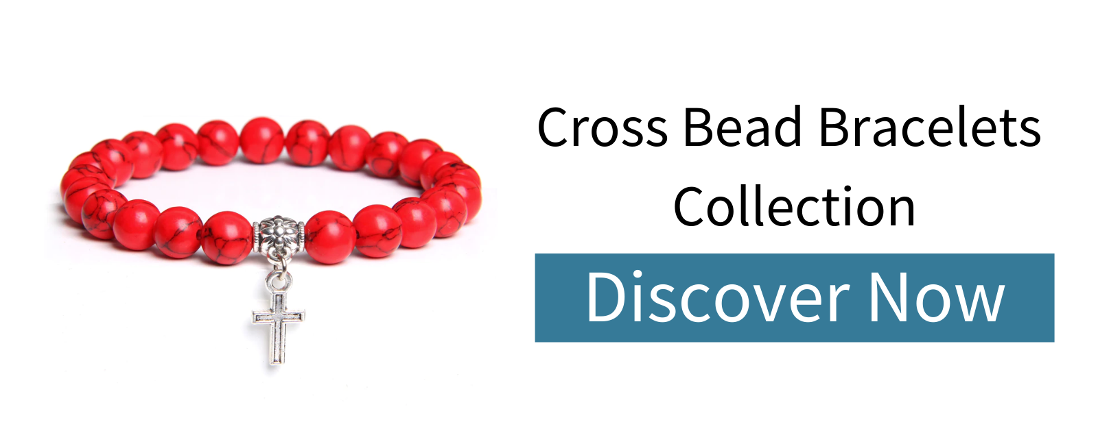 cross beads bracelets collection