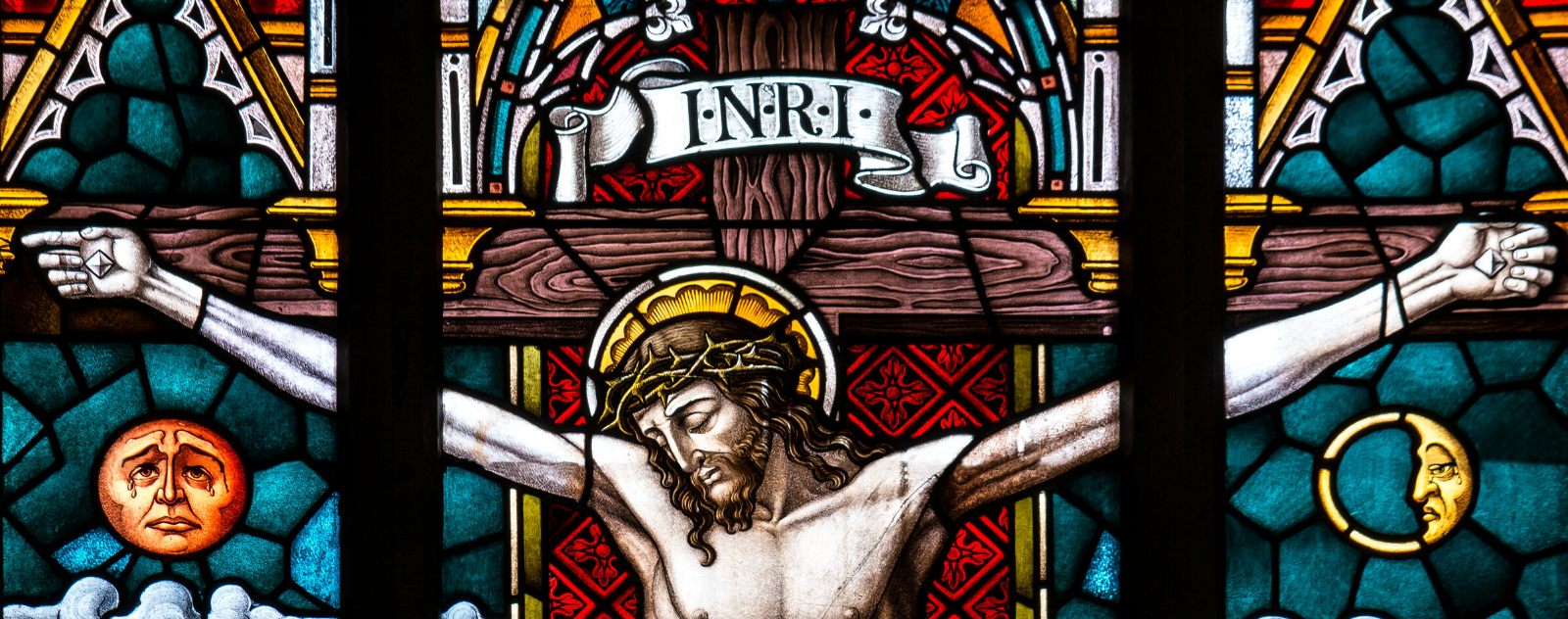 INRI Inscription on the Christian Cross