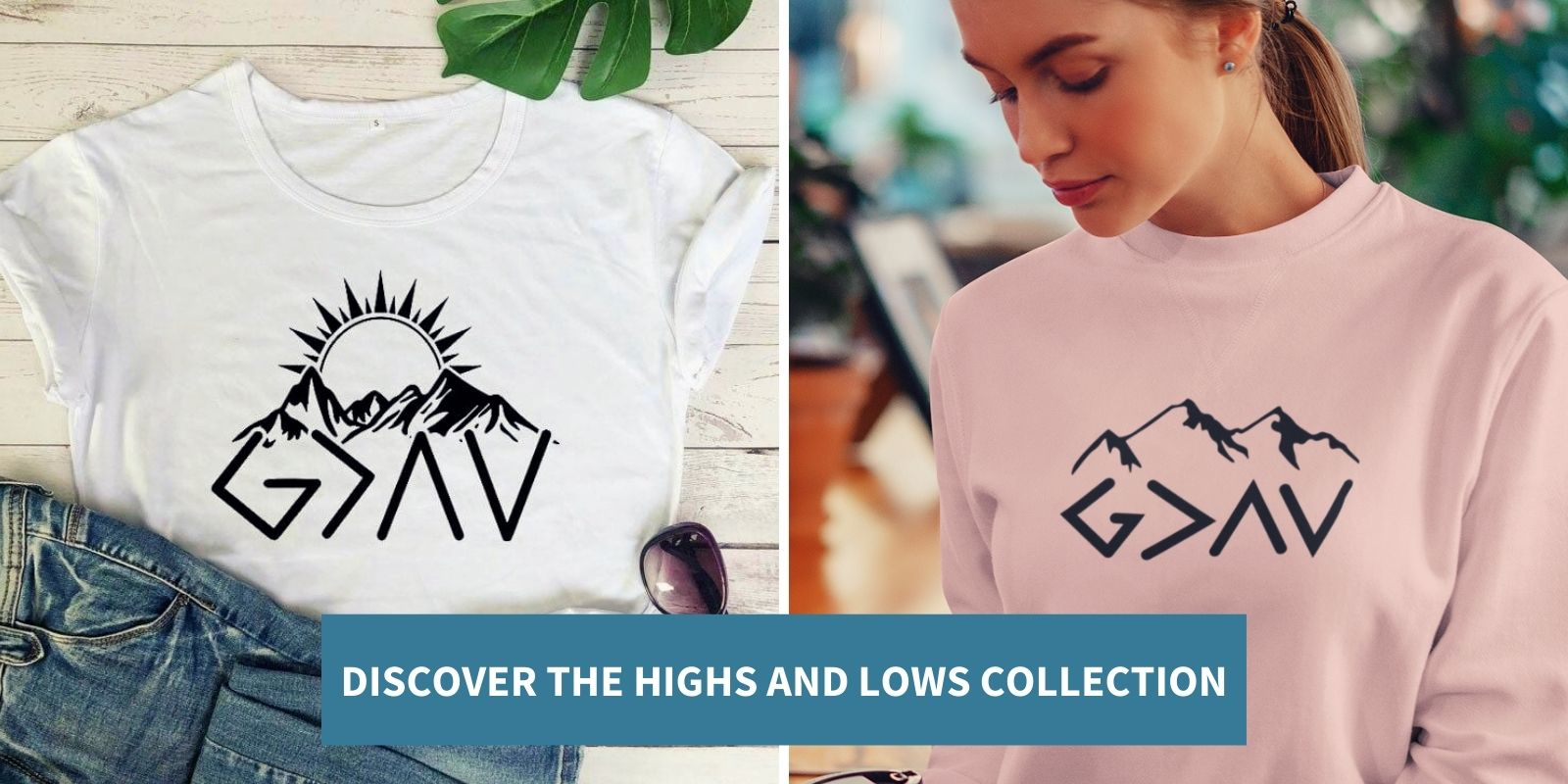god is greater than the highs and lows apparel