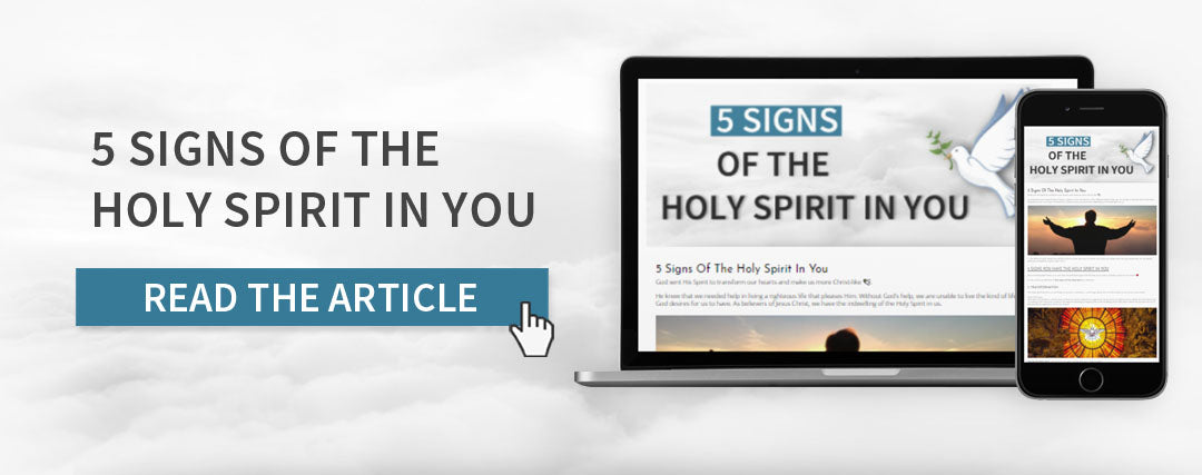 signs of the holy spirit in you