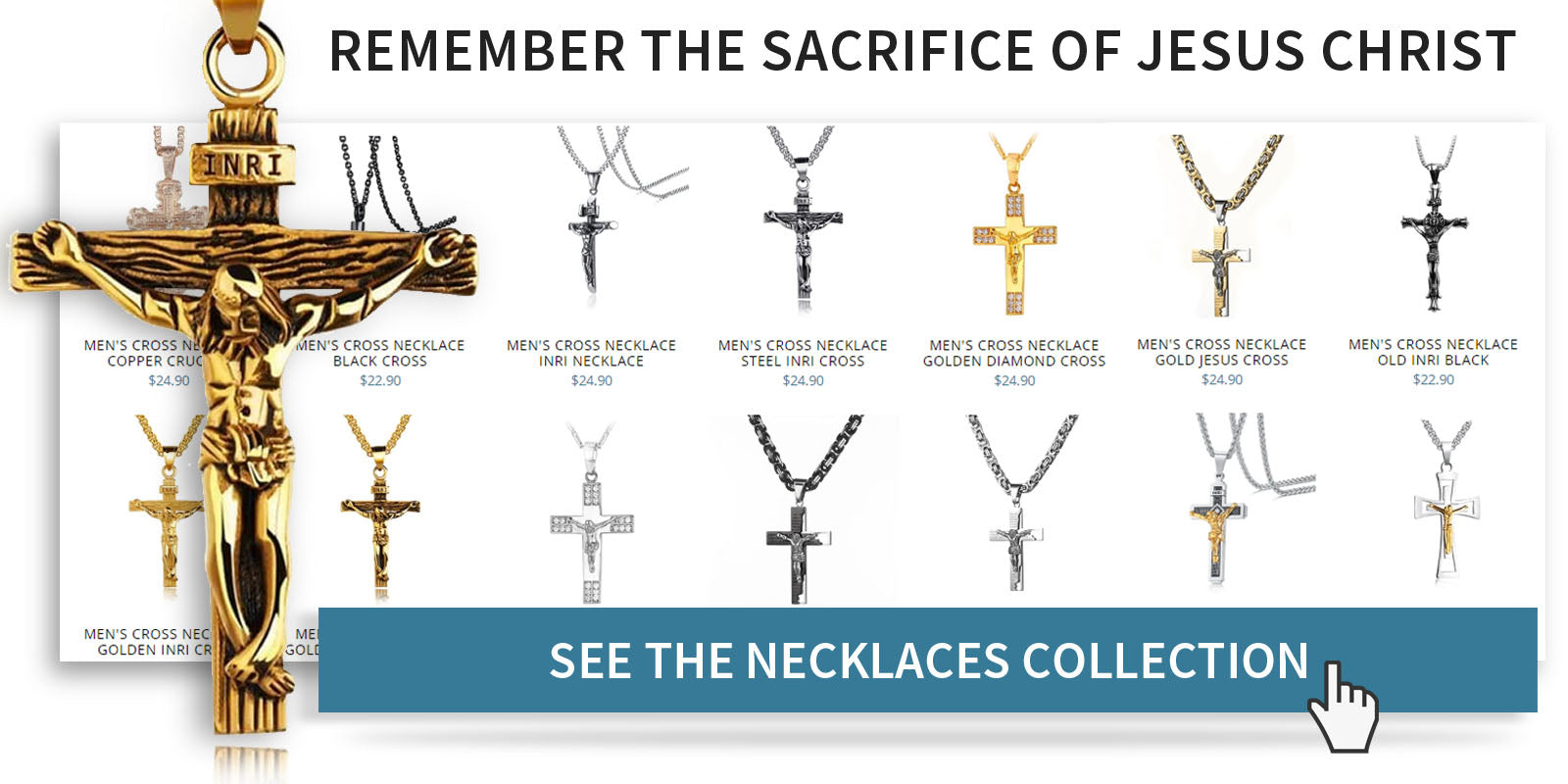 Christian necklaces