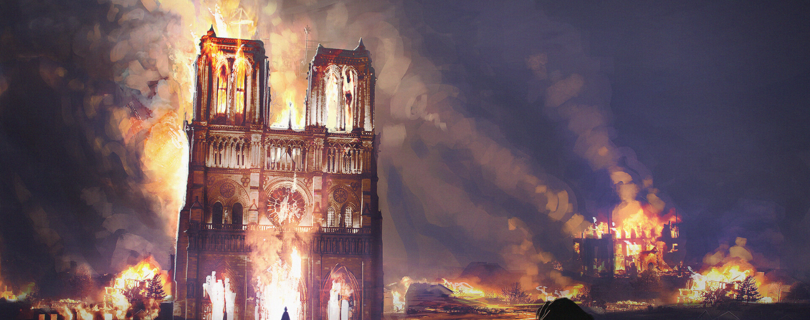 notre dame church fire