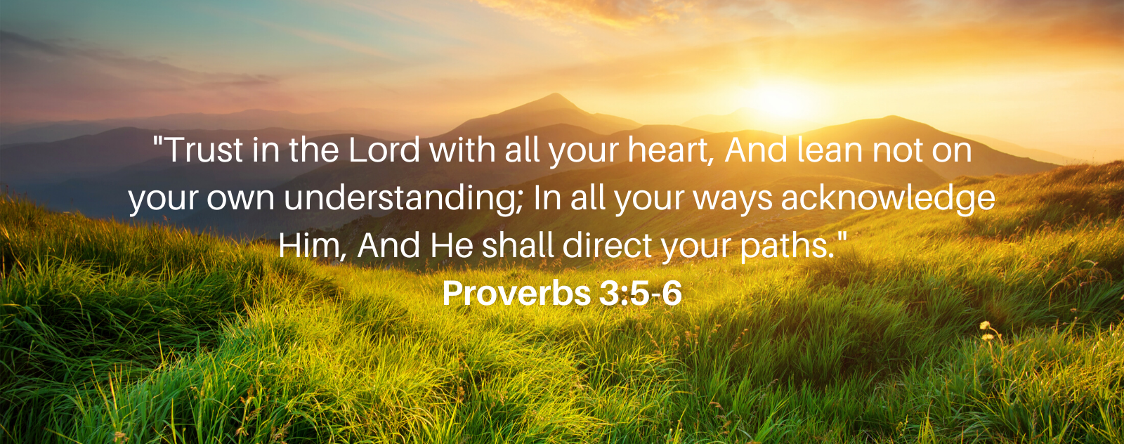 """Trust in the Lord"""" Proverbs 3:5-6 Meaning   Lord's Guidance"""
