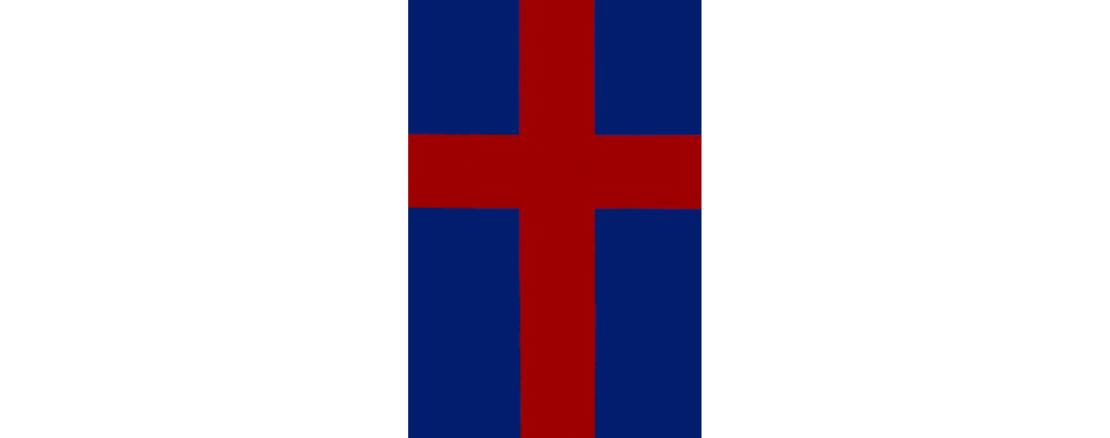 Red Christian Cross