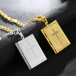 Holy Bible Locket Necklaces