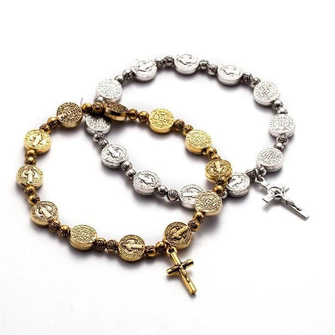 benedictine cross bracelets