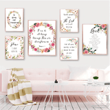 Bible Verse Wall Art<br> Be Strong And Courageous