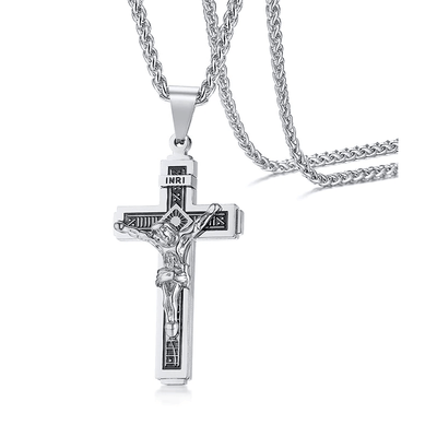 INRI Crucifix Necklace