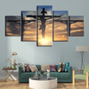 canvas-frame-decor-5-panel-jesus-lord
