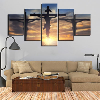 canvas-unframe-decor-5-panel-jesus-lord