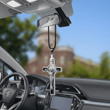 car-cross-decoration-crucifix