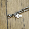 Men's Cross Bracelet <br>Cross Charm Chain