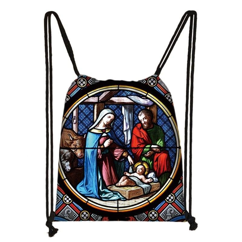 christian-drawstring-bag-nativity-scene