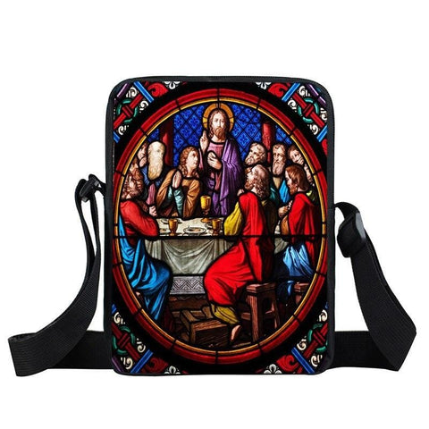 Christian Crossbody Bag<br> Last Supper