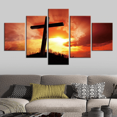 cross-canvas-decor