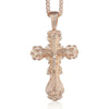 Copper Crucifix Necklace