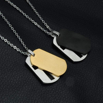 The Lord's Prayer Jewelry <br>Men's Necklace