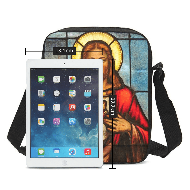 Christian Crossbody Bag<br> Jesus Shoulder Bag