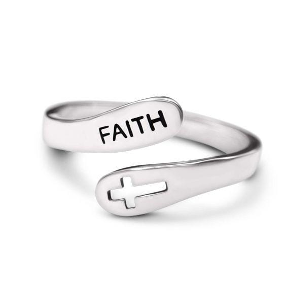Faith Adjustable Ring