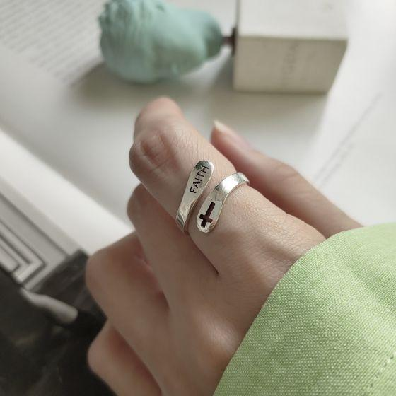 Faith Adjustable Ring for Women