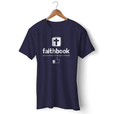 Faithbook Shirt navy