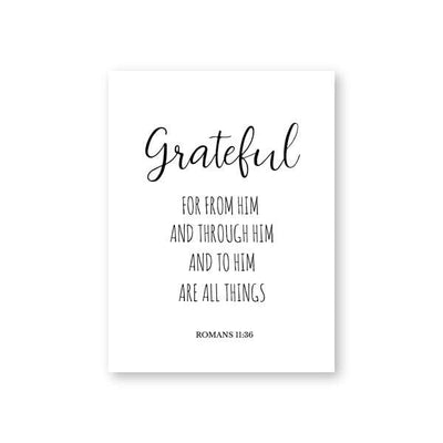 grateful wall art